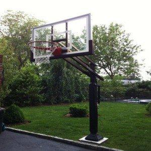 Glass Backboard - Basketball Hoop