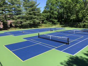 Pickleball and Tennis Combonation Court