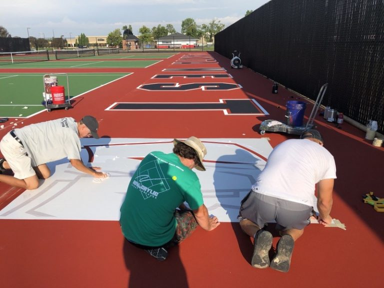 Lakota West Tennis Courts