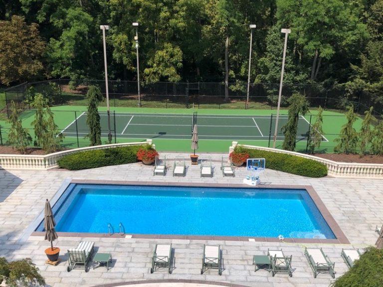 Pool-Tennis Court-Columbus