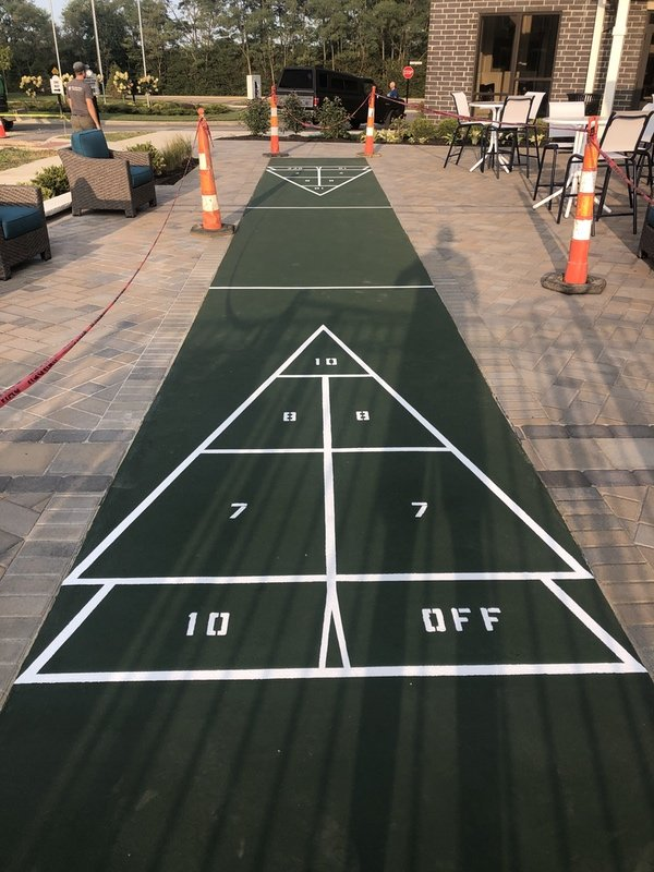 completed shuffle court