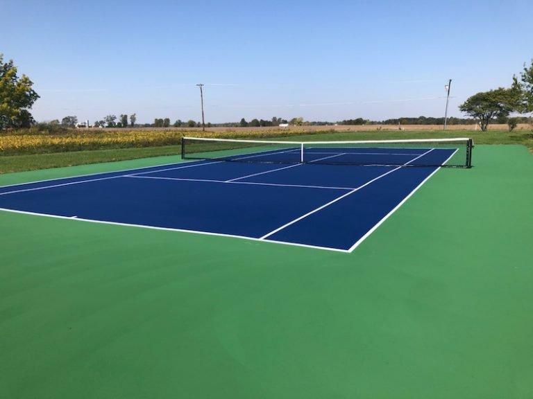 sunflower-after - New Tennis Court